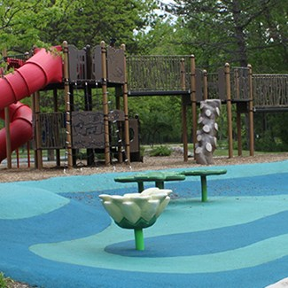 First Of New 'Signature' Playgrounds Open At Farnsworth