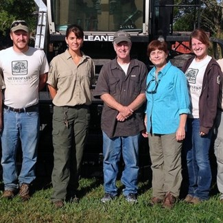Noted Author Visits Blue Creek Seed Nursery