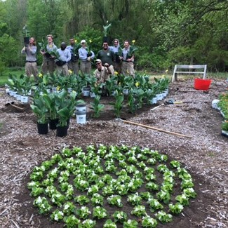 AmeriCorps Digs In at TBG